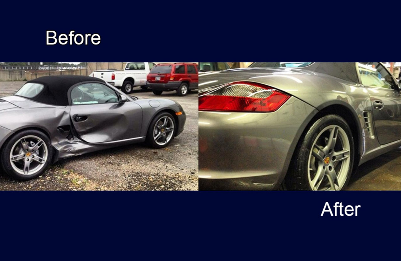 sports car auto body painting services